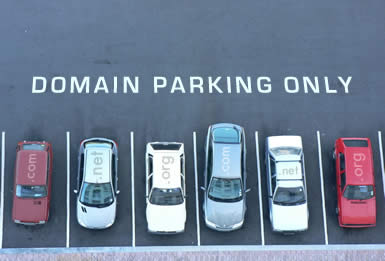 Parking de noms de domaine